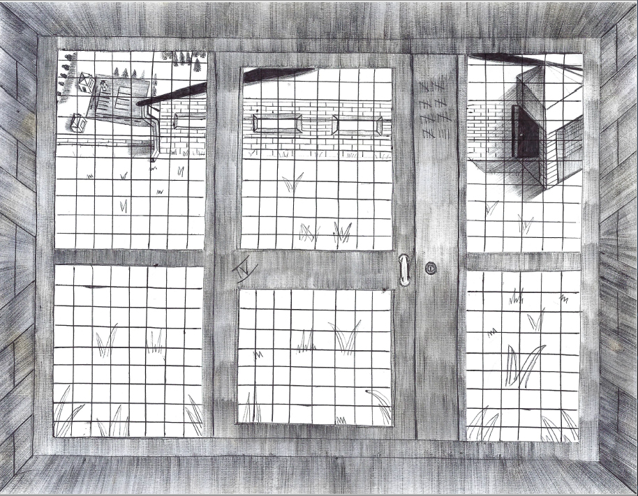 Prison cell view